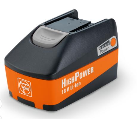 HighPower Akku-Pack, Spannung 18 V, Kapazitaet 5,2 Ah